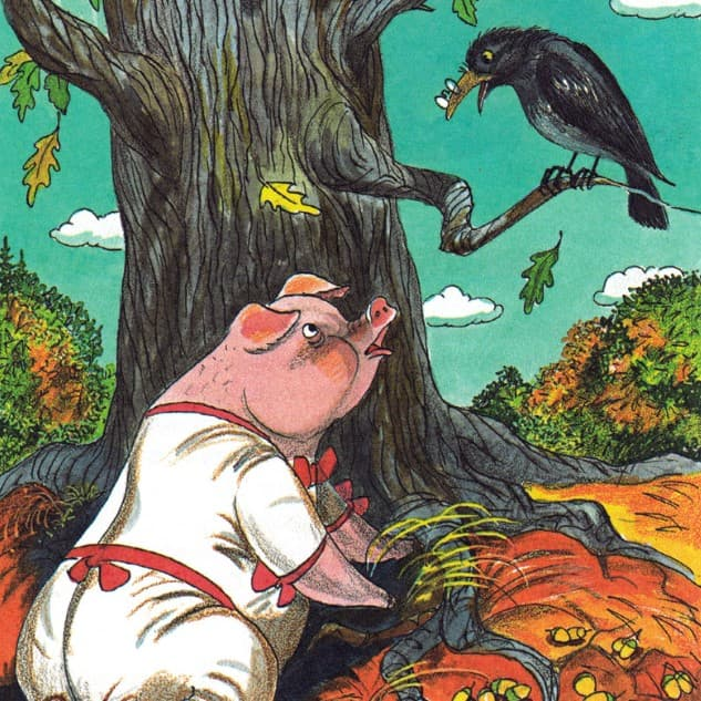 svinya pod dubom