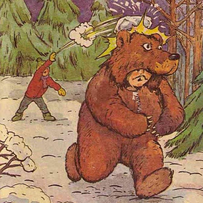 moj znakomyj medved